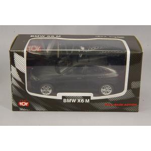 ☆ CMC  1/43 プルバックカー BMW X6 M マットブラック|kidbox