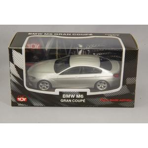 ☆ CMC  1/43 プルバックカー BMW M6 グランクーペ シルバー|kidbox