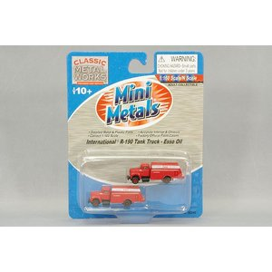 ☆ CLASSIC METAL WORKS 1/160 インターナショナル R-190 1953 オイルデリバリートラック 2台入 Esso Heating Oil|kidbox