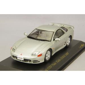 ☆ カーネル 1/43 三菱 GTO ツインターボ Z16A 1993 ジェントルシルバー|kidbox