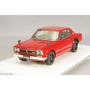 ☆ アイドロン 1/43 日産 スカイライン 2000 GT-R (KPGC10) 1971 レッド|kidbox