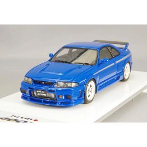 ☆ アイドロン 1/43 ニスモ 400R 1996 チャンピオンブルー/シルバーストライプ|kidbox