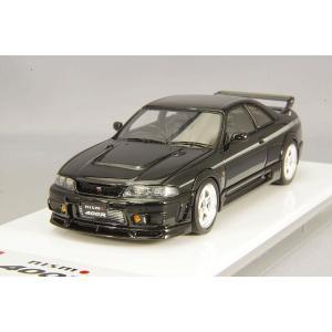 ☆ アイドロン 1/43 ニスモ 400R 1996 ブラック/シルバーストライプ|kidbox