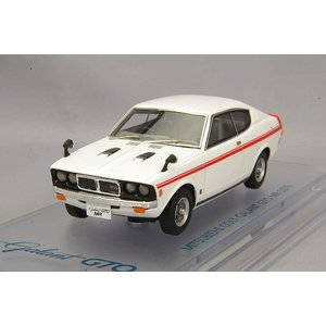 ☆ ENIF 1/43 三菱 コルト ギャラン GTO MR 1970 ロッキーホワイト 【レジン製】 kidbox