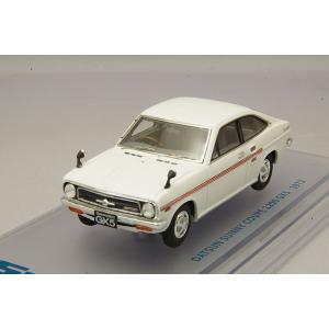 ☆ ENIF 1/43 日産 サニー 1200 GX5 クーペ 1972年型 ホワイト kidbox