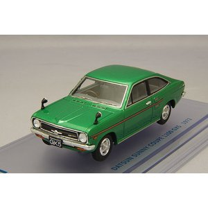 ☆ ENIF 1/43 日産 サニー 1200 GX5 クーペ 1972年型 グリーンメタリック kidbox