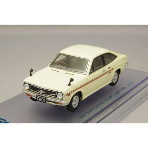 ☆ ENIF 1/43 日産 サニー 1200 GX5 クーペ 1972年型 サンイエロー kidbox