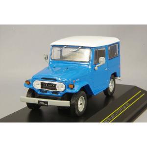 First43 1/43 トヨタ ランドクルーザー FJ40 1973 (海外仕様) ブルー|kidbox