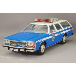 グリーンライト 1/18 1988 フォード クラウン ヴィクトリア ワゴン NYPD (ニューヨーク市警察)|kidbox