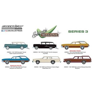 グリーンライト 1/64 エステートワゴン シリーズ3 6台セット|kidbox