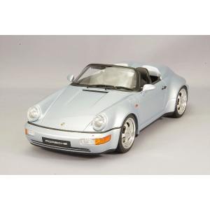 ☆ GTスピリット 1/18 ポルシェ 911 964 スピードスター ターボルック シルバー kidbox