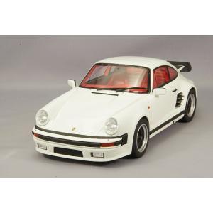 ☆ GTスピリット 1/18 ポルシェ 911 ターボ S ホワイト kidbox