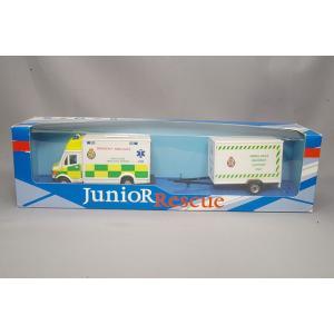,ホンウェル 1/43 メルセデスベンツ スプリンターバン NHS 救急車 サポートユニット付き kidbox