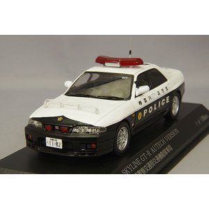 ☆ RAI'S 1/43 日産 スカイライン GT-R オーテックVer. 2018 神奈川県警察 交通部交通機動隊車両 (477)|kidbox
