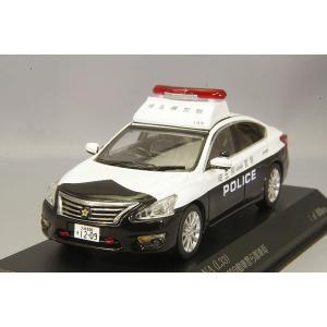 ☆ RAI'S 1/43 日産 ティアナ (L33) 2018 埼玉県警察地域部自動車警ら隊車両 (109)|kidbox
