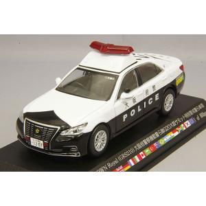 ☆ RAI'S 1/43 トヨタ クラウン ロイヤル GRS210 2019 大阪府警察機動警ら隊G20大阪サミット特別警戒警ら車両 204|kidbox