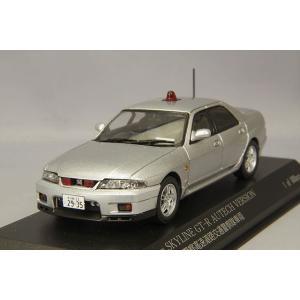☆ RAI'S 1/43 日産 スカイライン GT-R オーテックVer. 1998 埼玉県警察 高速道路交通警察隊車両 (覆面/銀)|kidbox
