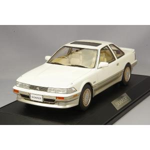☆ ホビージャパン 1/18 トヨタ ソアラ 3.0 GT リミテッド (MZ21) エアーサスペンション 1988 クリスタルホワイトトーニングII|kidbox
