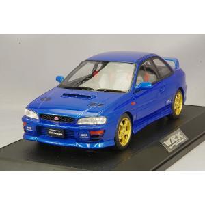 ☆ ホビージャパン 1/18 スバル インプレッサ WRX タイプR STi Ver.1997 (GC8) ソニックブルーマイカ|kidbox