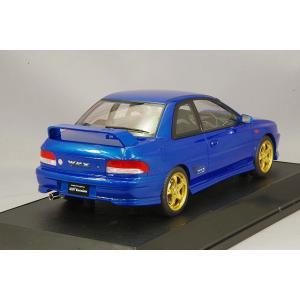 ☆ ホビージャパン 1/18 スバル インプレッサ WRX タイプR STi Ver.1997 (GC8) ソニックブルーマイカ|kidbox|03