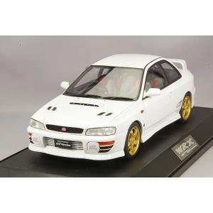 ☆ ホビージャパン 1/18 スバル インプレッサ WRX タイプR STi バージョンIV (GC8) 1997 フェザーホワイト|kidbox