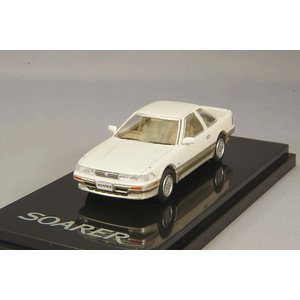 ホビージャパン 1/64 トヨタ ソアラ 3.0GT リミテッド 1988 クリスタルホワイトトーニ...