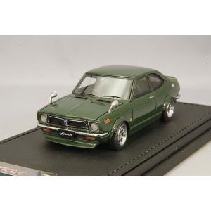 ☆ イグニッションモデル 1/43 トヨタ スプリンター トレノ (TE27) グリーン/ハヤシストリート14インチ kidbox