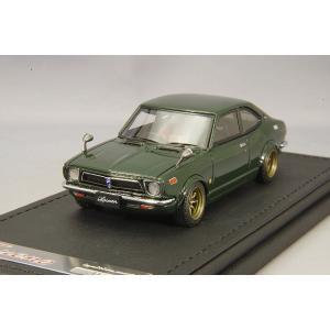 ☆ イグニッションモデル 1/43 トヨタ スプリンター トレノ TE27 グリーン/RSワタナベ14インチ(ブロンズ) kidbox