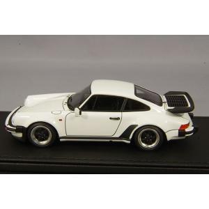 ☆ イグニッションモデル 1/43 ポルシェ 911 930 ターボ ホワイト/アロイホイール16インチ(ポリッシュ/ブラック) kidbox 02