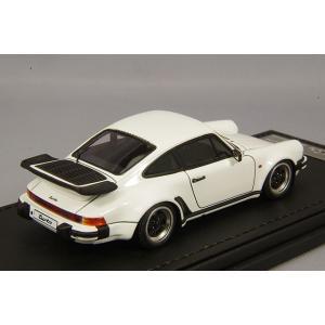 ☆ イグニッションモデル 1/43 ポルシェ 911 930 ターボ ホワイト/アロイホイール16インチ(ポリッシュ/ブラック) kidbox 03