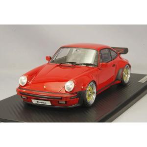 ☆ イグニッションモデル 1/18 ポルシェ 911 (930) ターボ レッド/BBS RSタイプ18インチ(ポリッシュ/ゴールド)|kidbox