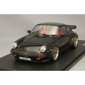 ☆ イグニッションモデル 1/18 ポルシェ 911 (930) ターボ ブラック/BBS LMタイプ18インチ(ポリッシュ/ゴールド)|kidbox