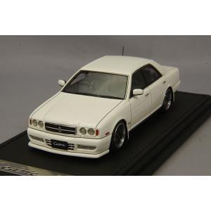☆ イグニッションモデル 1/43 日産 セドリック Y32 グランツーリスモ アルティマ ホワイト/BBS LMタイプ18インチ(ポリッシュ/ガンメタリック)|kidbox