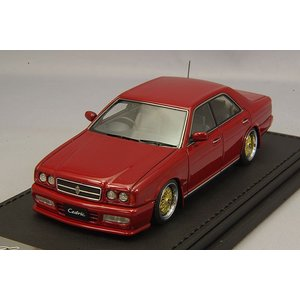 ☆ イグニッションモデル 1/43 日産 セドリック Y32 グランツーリスモ アルティマ ワインレッド/BBS RSタイプ18インチ(ポリッシュ/ゴールド)|kidbox