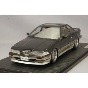 ☆ イグニッションモデル 1/18 トヨタ ソアラ Z20 2.0GT ツイン ターボ L ブラック/シルバー/BBS RSタイプ17インチ(ポリッシュ/シルバー)|kidbox
