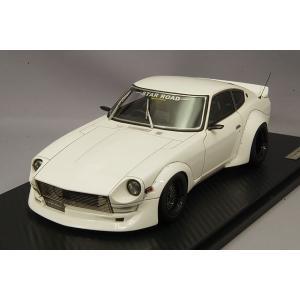 ☆ イグニッションモデル 1/18 日産 フェアレディ Z S30 スターロード  ホワイト/グロースター15インチ(ブロンズ/シルバー)|kidbox