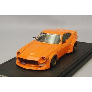 ☆ イグニッションモデル 1/43 日産 フェアレディ Z (S30) スターロード オレンジ/グロースター15インチ|kidbox