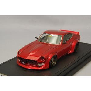 ☆ イグニッションモデル 1/43 日産 フェアレディ Z (S30) スターロード メタリックレッド/グロースター15インチ|kidbox