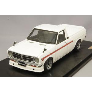 ☆ イグニッションモデル 1/18 日産 サニー トラック ロング B121  ホワイト/ハヤシストリート14インチ|kidbox