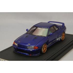 ☆ イグニッションモデル 1/43 トップシークレット GT-R (VR32) ブルーメタリック/OZレーシングチャレンジHLT18インチ(ブロンズ)|kidbox