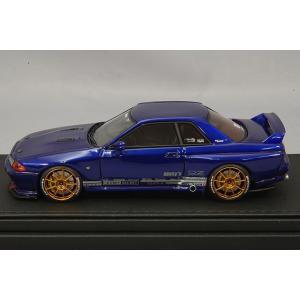 ☆ イグニッションモデル 1/43 トップシークレット GT-R (VR32) ブルーメタリック/OZレーシングチャレンジHLT18インチ(ブロンズ)|kidbox|02