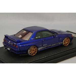 ☆ イグニッションモデル 1/43 トップシークレット GT-R (VR32) ブルーメタリック/OZレーシングチャレンジHLT18インチ(ブロンズ)|kidbox|03