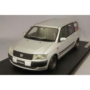 ☆ イグニッションモデル 1/18 トヨタ プロボックス GL (NCP51V) シルバー/RSワタナベ14インチ(ガンメタリック/センターキャップ付)|kidbox