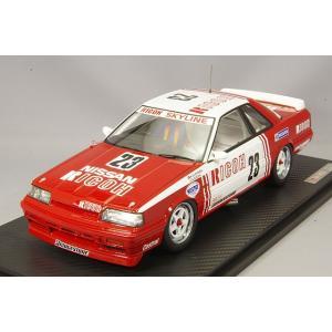 ☆ イグニッションモデル 1/18 日産 スライライン GTS-R リコー #23 1988 JTC A.オロフソン/鈴木亜久里|kidbox