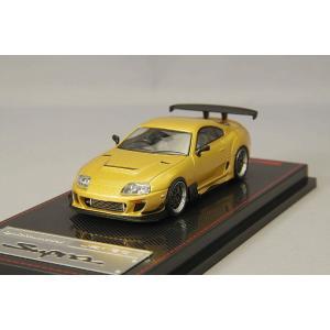☆ イグニッションモデル 1/64 トヨタ スープラ JZA80 RZ ゴールド BBS LMタイプ19in.ホイール (ポリッシュ&ガンメタリック)|kidbox