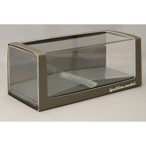 ☆ イグニッションモデル 1/43 ディスプレイケース レザーベース kidbox