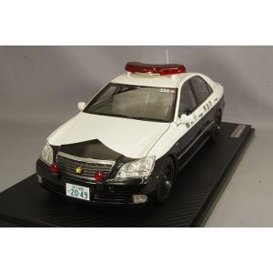 ☆ イグニッションモデル 1/18 トヨタ クラウン (GRS180) 神奈川県警高速道路交通警察隊 556号|kidbox