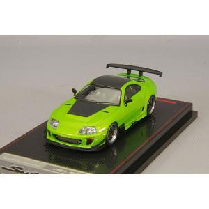 ☆* 【宮沢模型流通限定】 イグニッションモデル 1/64 トヨタ スープラ JZA80 RZ グリーンメタリック BBS LMタイプ 19インチホイール|kidbox