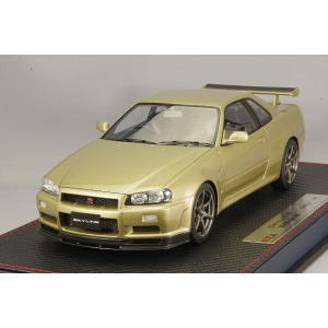 ☆* IDEA (イデア) 1/18 日産 スカイライン GT-R (BNR34) M-spec ニュル 2002 シリカブレス|kidbox