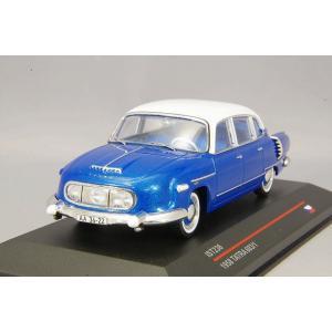 イストモデル 1/43 タトラ 603-1 1957 ブルー/ホワイト kidbox